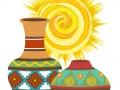 Southwest 4 vases