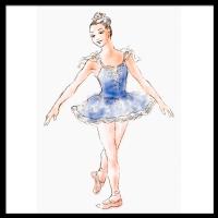 graphicill-cinballerina